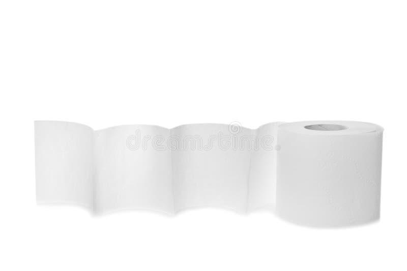Rotolo della carta igienica fotografia stock libera da diritti