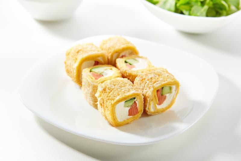 Rotolo di sushi di Maki immagini stock libere da diritti