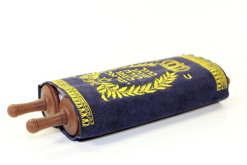 Rotolo di Torah fotografia stock libera da diritti