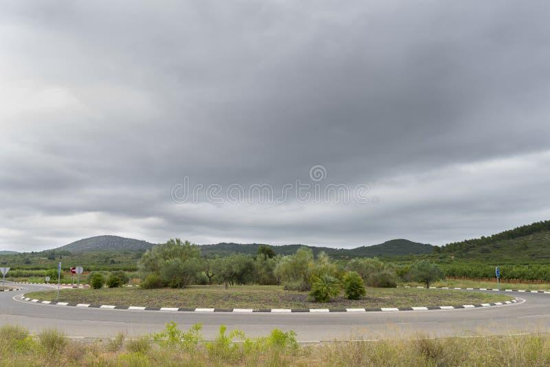 Download Rotonda fotografia stock. Immagine di segnalazione, pianta - 56877122