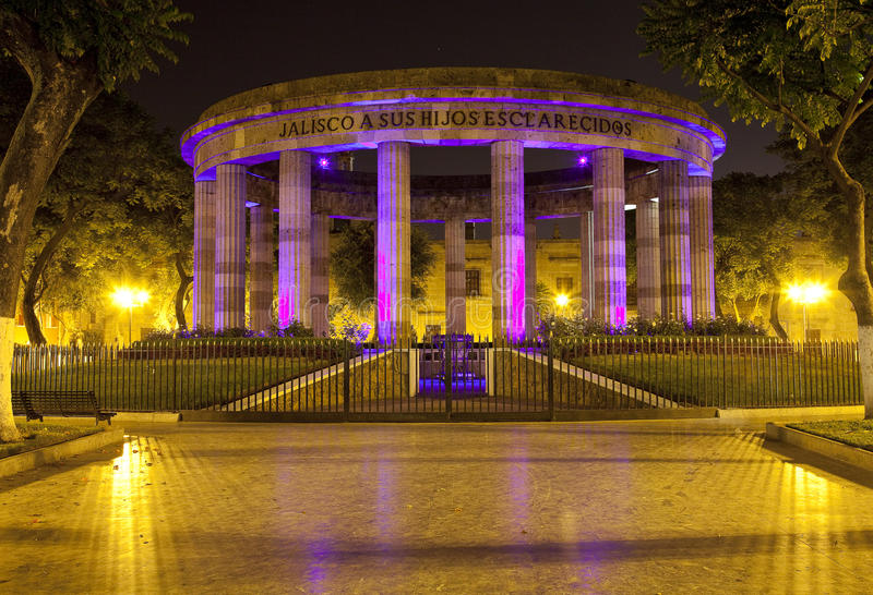 Rotonda a Guadalajara fotografie stock