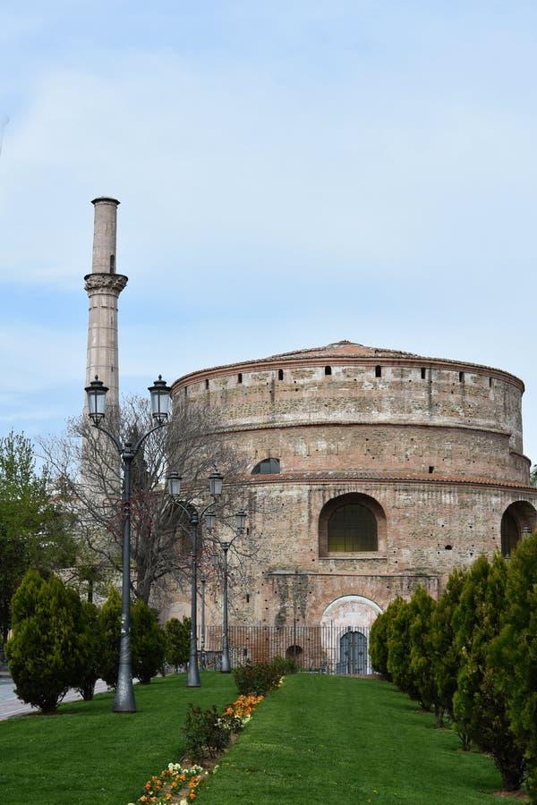 Rotonda in Thessaloniki, de oudste kerk van de wereld royalty-vrije stock afbeelding