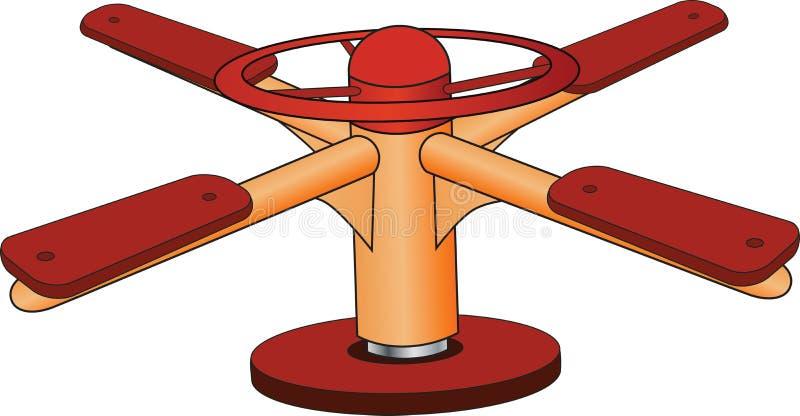 Rotonde vector illustratie