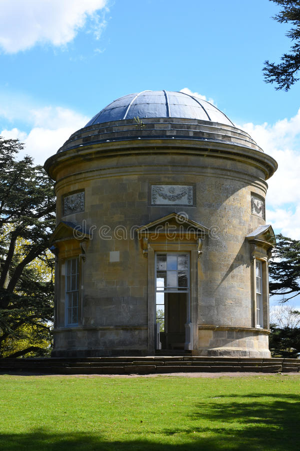 Rotonde, Croome-Hof, Croome D'Abitot, Worcestershire, Engeland stock foto