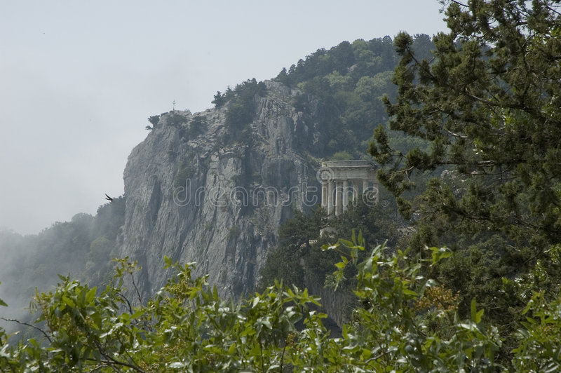 Rotonde in de Krim stock afbeeldingen