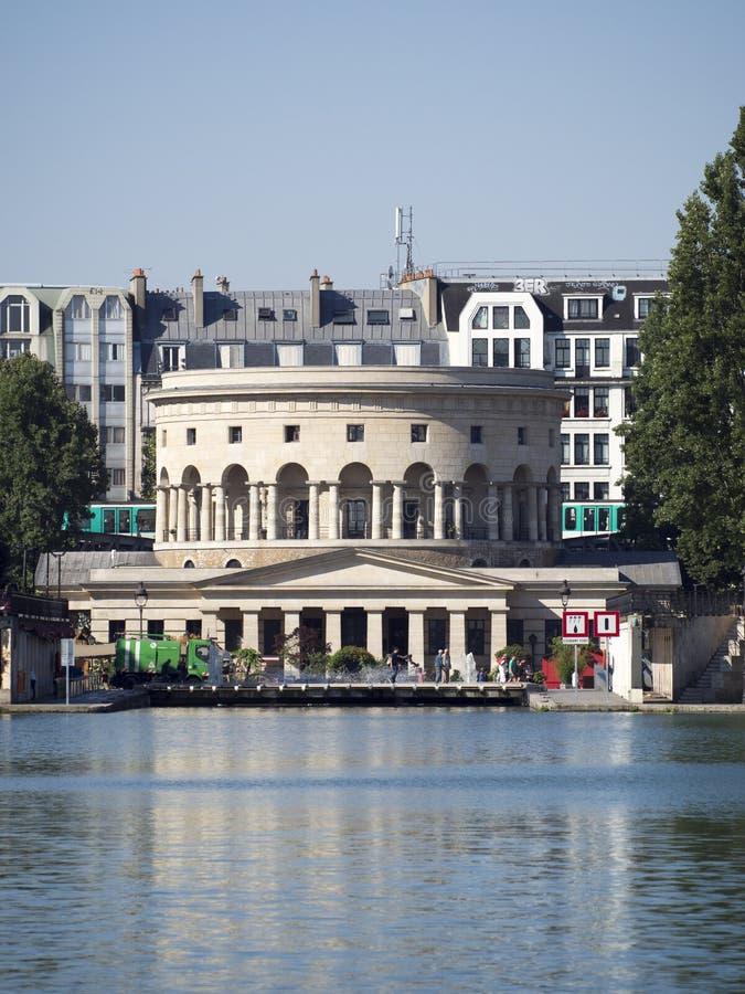 Rotonde de la Villette, Paris, France stock photo