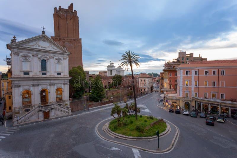 Rotonde, stad van Rome, Italië royalty-vrije stock fotografie