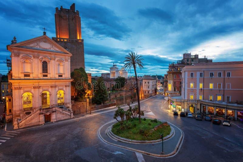 Rotonde, stad van Rome, Itali? stock foto's