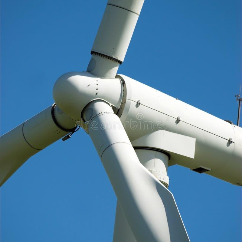Rotor de turbina de viento fotos de archivo
