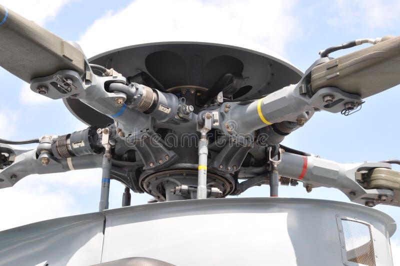 Rotor del helicóptero fotografía de archivo libre de regalías