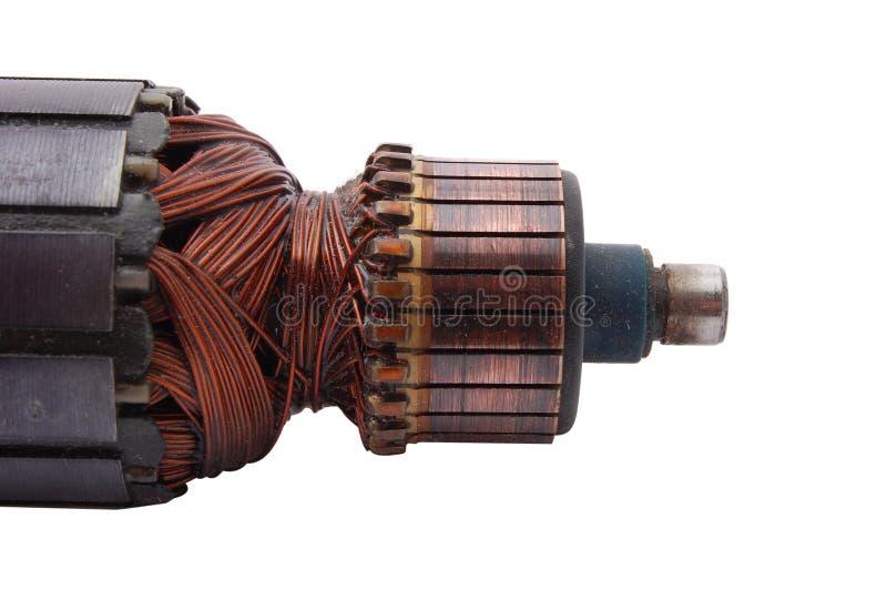 Rotor del motor eléctrico fotos de archivo