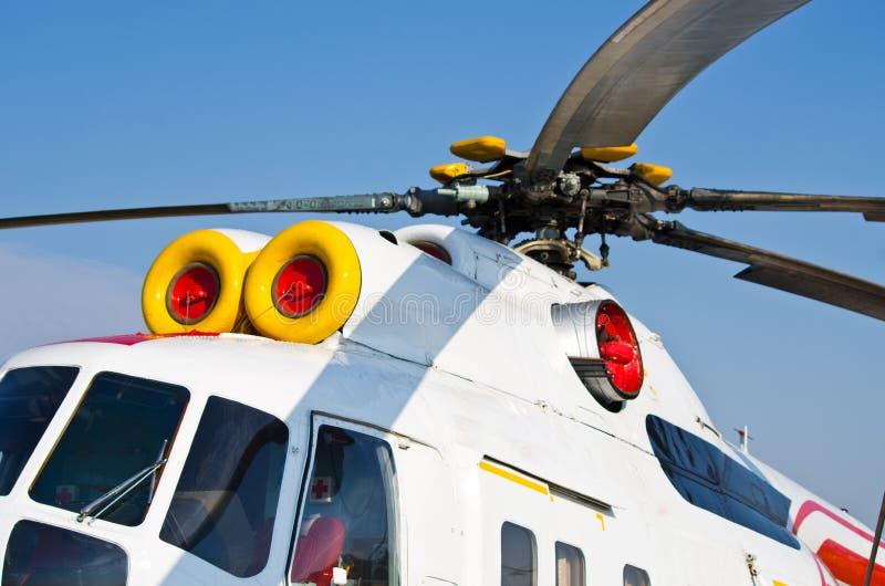 Rotor des Hubschraubers lizenzfreies stockbild