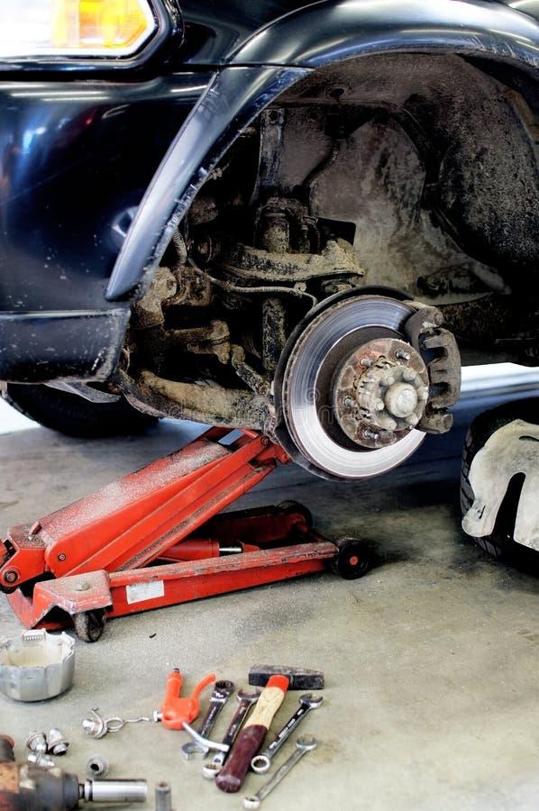 Rotor do freio fotografia de stock