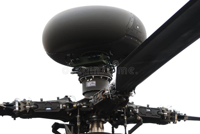 Rotor do helicóptero de combate foto de stock royalty free