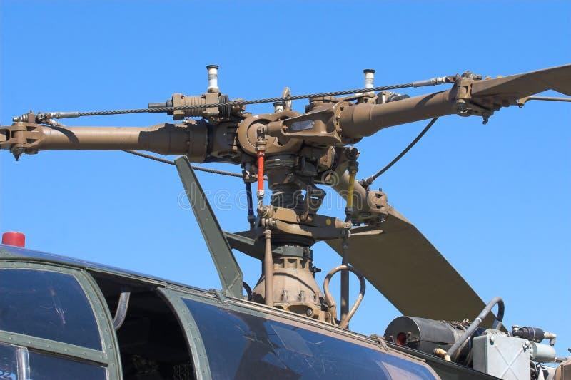 Rotore dell'elicottero immagini stock libere da diritti
