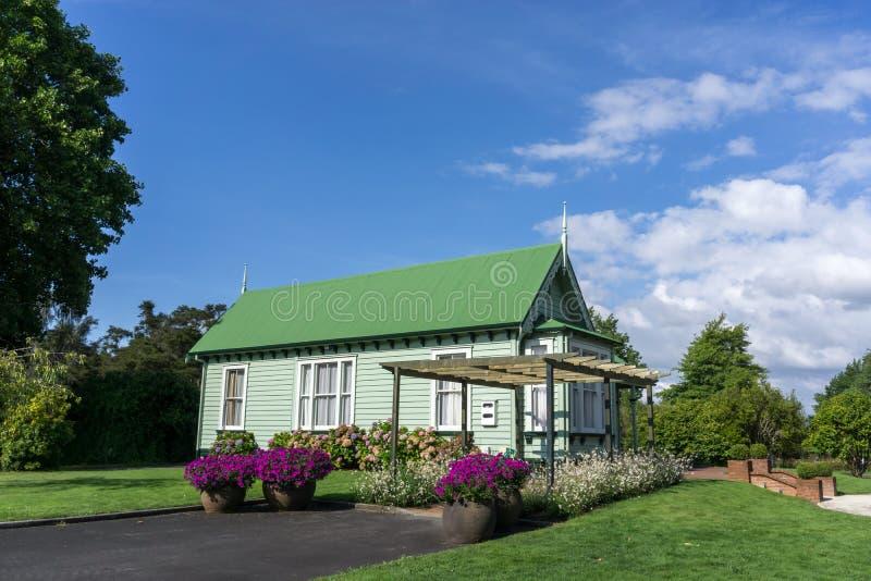 Rotorua government gardens royalty free stock photo