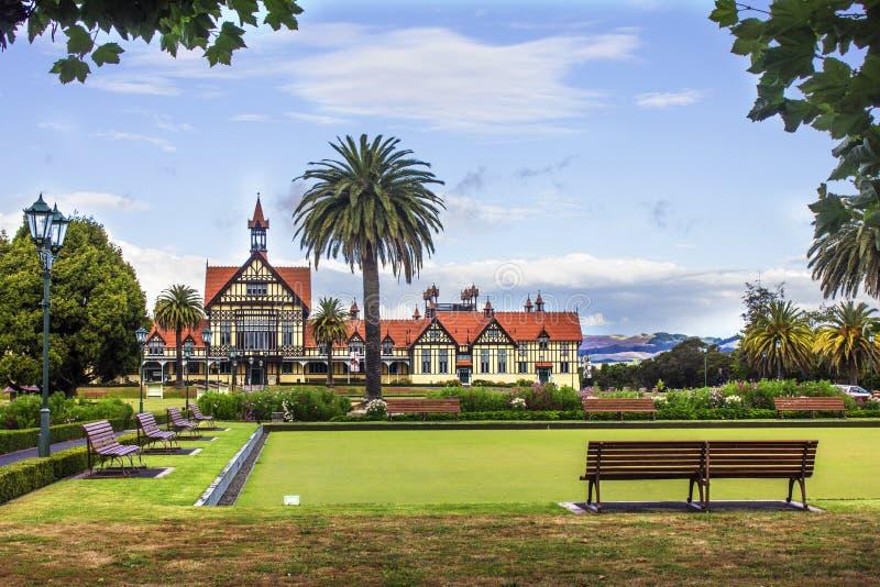 Rotorua Museum of Art and History stock photos