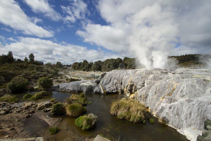 Rotorua Nouvelle-Zélande photos libres de droits