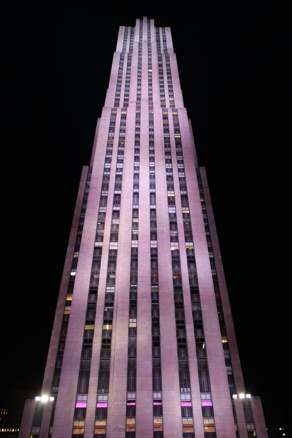 30 rots die Rockefeller-Centrum, New York bouwen royalty-vrije stock afbeeldingen