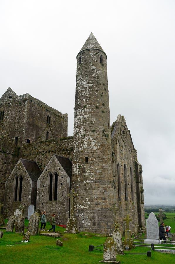 Rots van Cashel, Ierland royalty-vrije stock afbeeldingen
