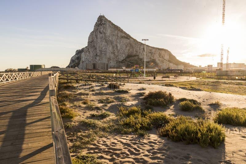 Rots van Gibraltar stock fotografie