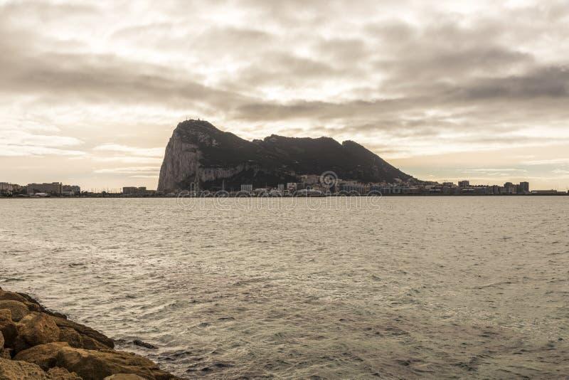 Rots van Gibraltar royalty-vrije stock fotografie