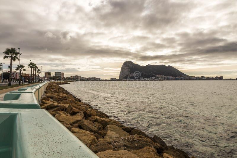 Rots van Gibraltar stock foto