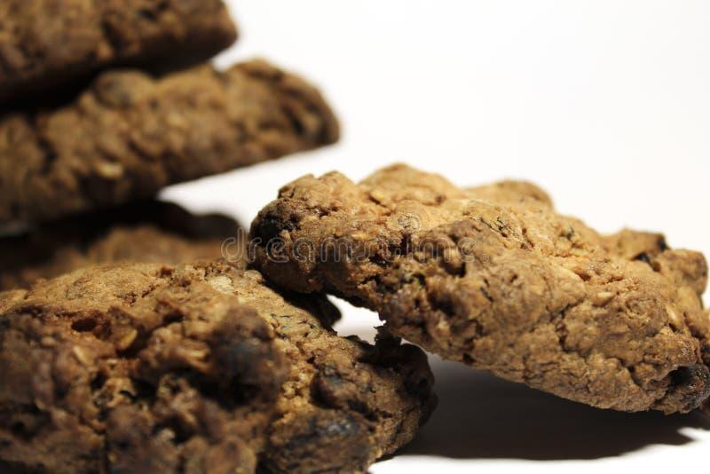 rots van koekjes stock fotografie