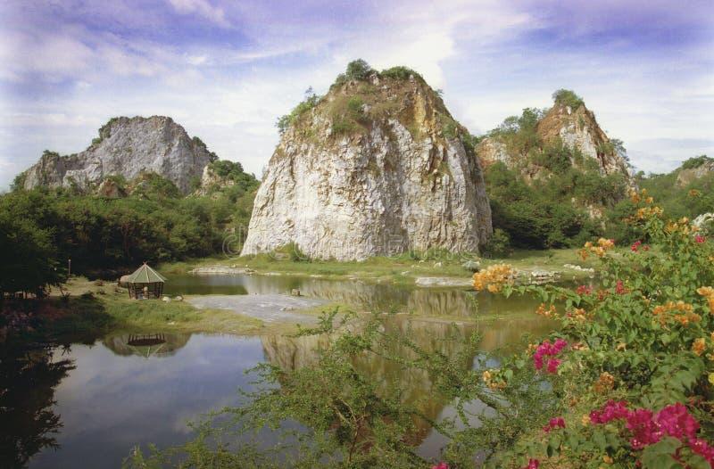 Rotsachtig Park royalty-vrije stock afbeelding