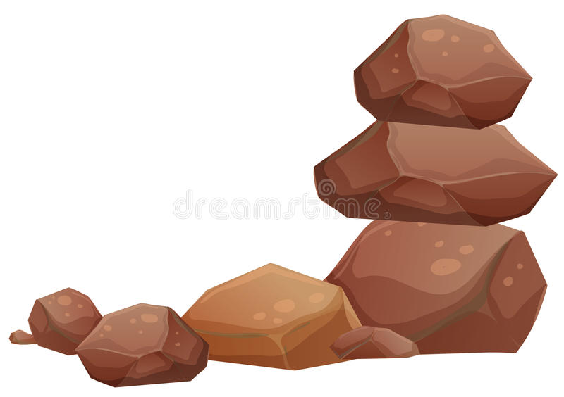 Rotsen stock illustratie