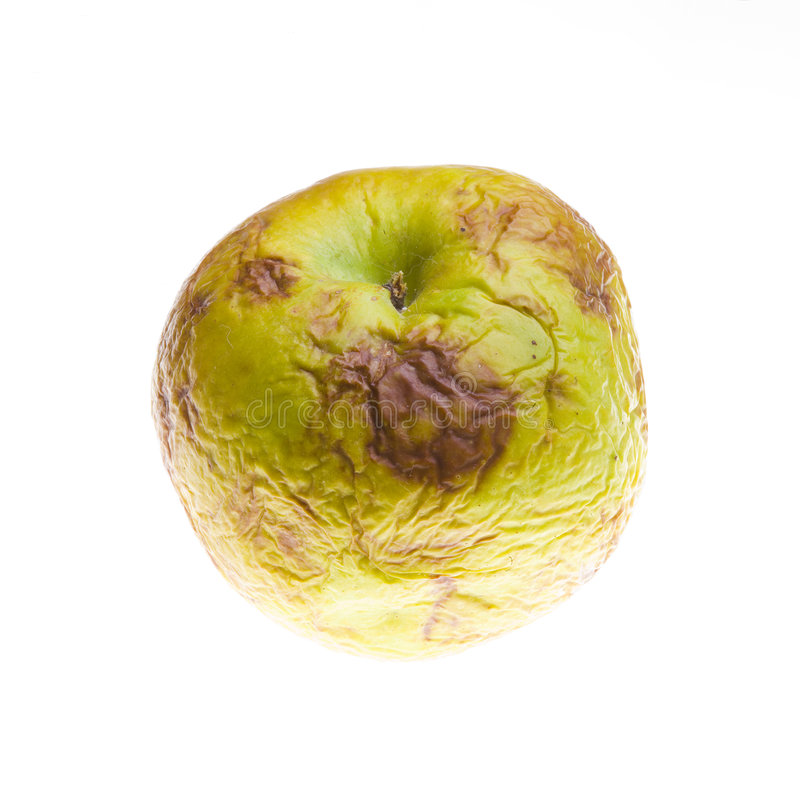 Download Rotten apple stock photo. Image of apple, wrinkle, alteration - 3835404
