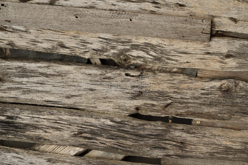 Rotten wood planks background royalty free stock photo