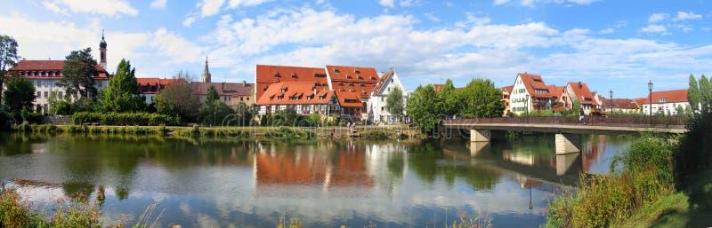 Rottenburg il Neckar, panorama immagini stock