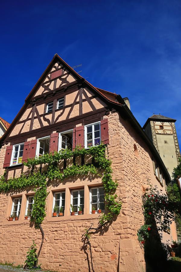 Rottenburg am Neckar. Is a city in Germany stock image
