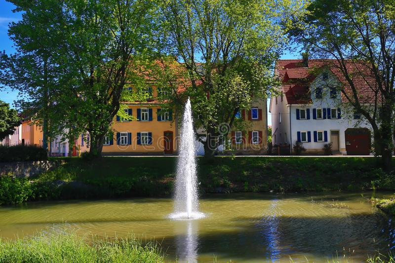 Rottenburg am Neckar. Is a city in Germany royalty free stock images