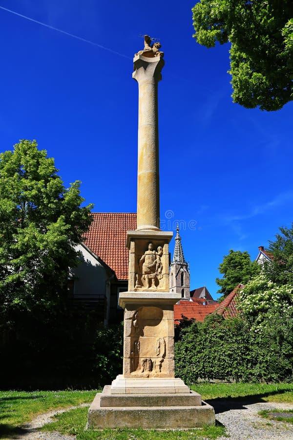 Rottenburg am Neckar. Is a city in Germany stock photo