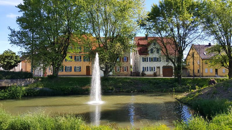 Rottenburg am Neckar. Is a city in Germany royalty free stock image