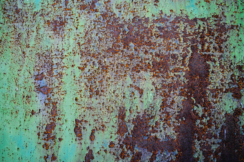 Rottend Rusty Metal Texture stock foto