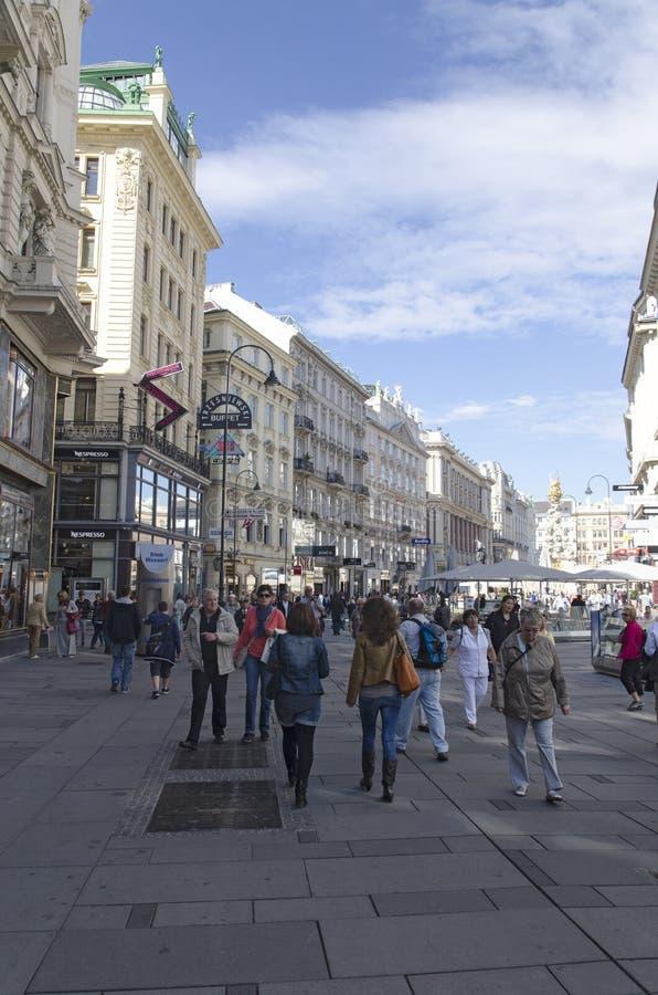 Download Rottenturm Street In Vienna, Austria Editorial Photography - Image: 33514597
