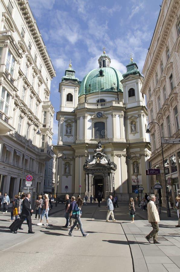 Download Rottenturm Street In Vienna, Austria Editorial Photo - Image: 33514631