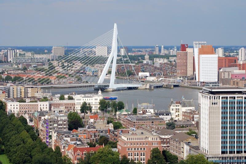 Rotterdam aéreo imagens de stock