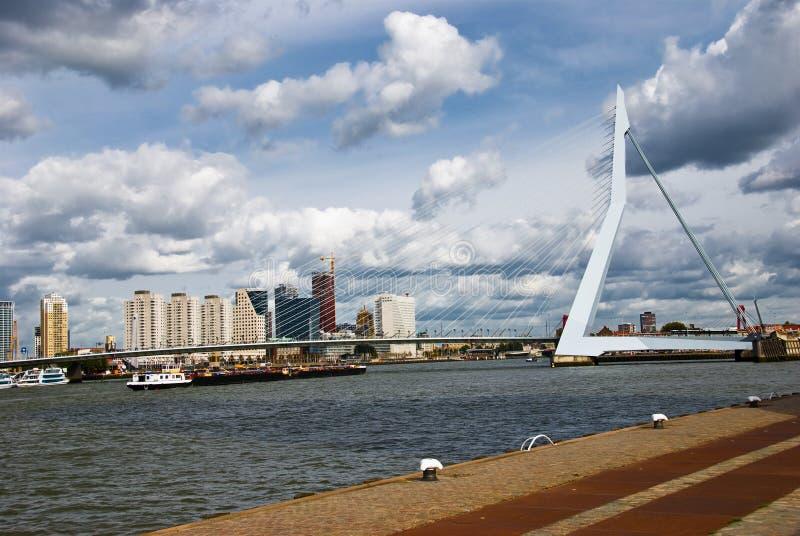 Rotterdam Bridge royalty free stock image