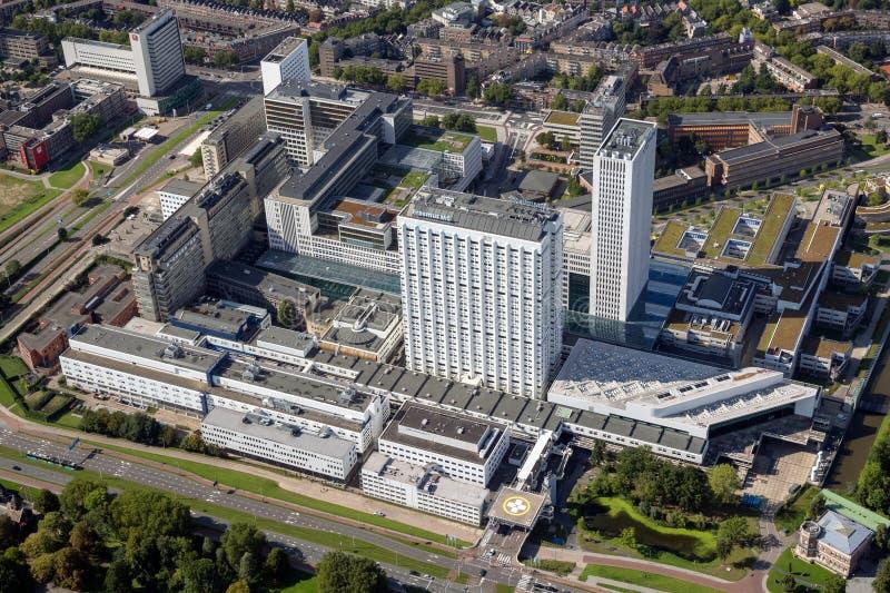 Rotterdam Erasmus medycznego uniwersyteta szpital UMC zdjęcia royalty free
