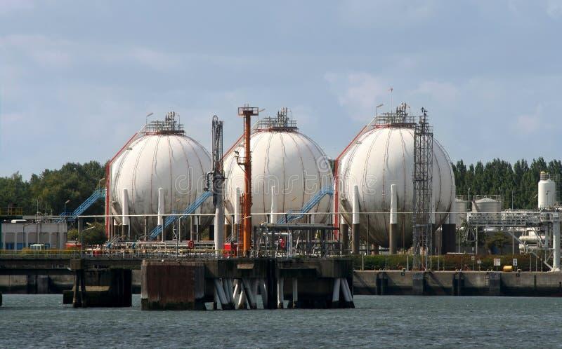 Rotterdam-Industrie lizenzfreies stockfoto