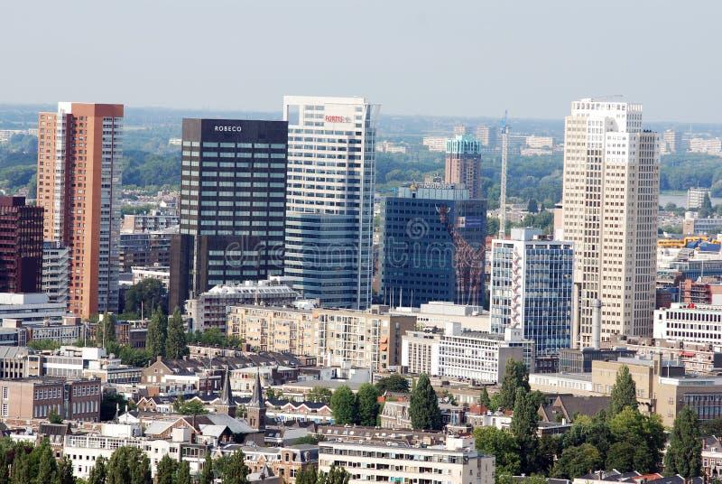 Rotterdam lotniczy zdjęcia royalty free