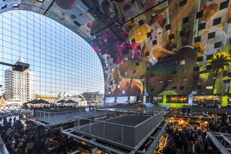 Rotterdam Market Hall stock photography