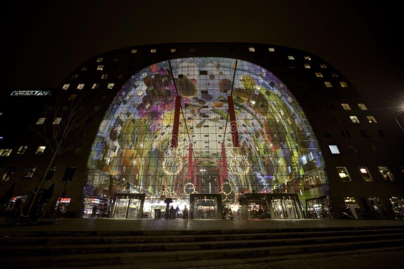 Rotterdam Market Hall royalty free stock photos