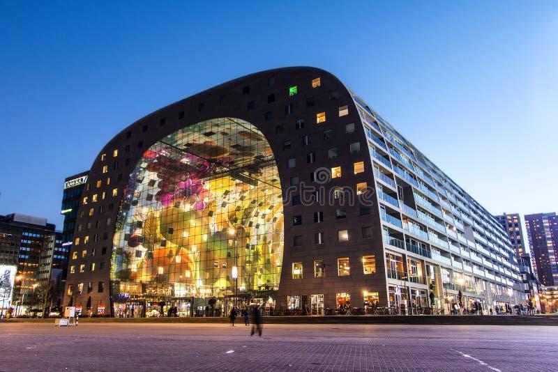 Rotterdam Market Hall stock photos
