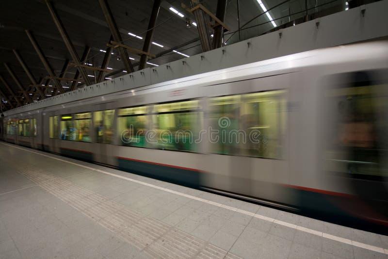 rotterdam metro zdjęcie stock