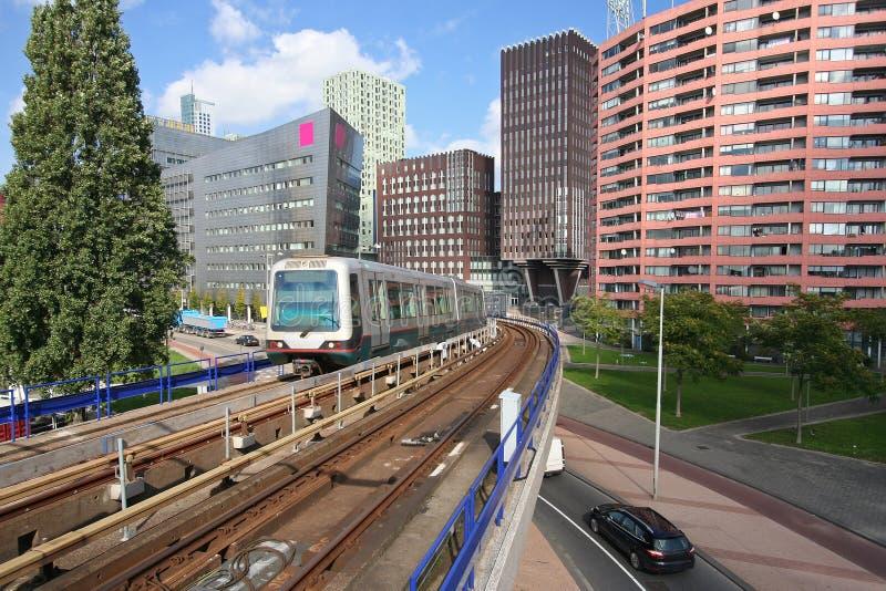 Rotterdam Metro Station Stock Photos